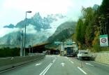 Approaching Mont Blanc
