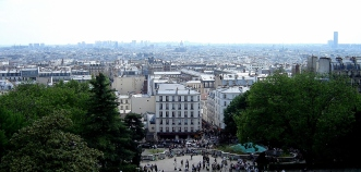 City views from Sacre Cour