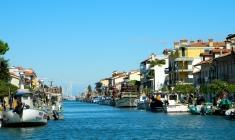Fishing fleet and pleasure boats
