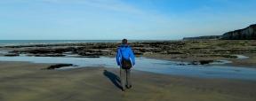 Returning at low tide