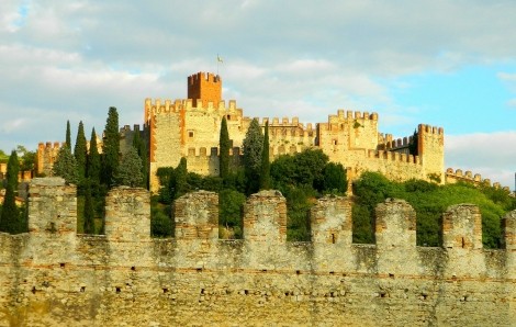 Soave at sunset