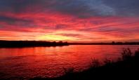 Sunrise at La Mailleraye-sur-Seine