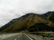 The first of 24km's of Italian tunnels