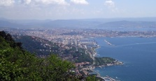 Trieste from the E61