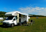 Camping in style by the Baltic
