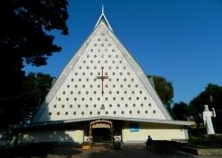Catholic church built in 1960s
