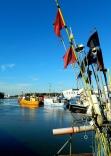 Fishing port at Łeba