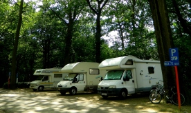 Free camping at Brasschaat