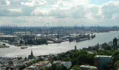 Hamburg dockland views