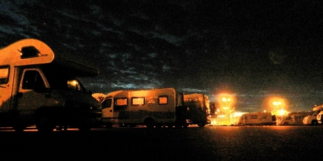 Harbourside at midnight