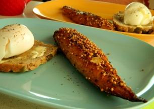 Locally smoked mackerel breakfast