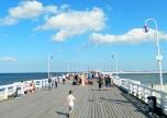 Longest wooden pier in Europe