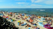 Masses on the Mielno beach