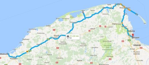 Polish Baltic route