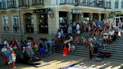 Polish street dance