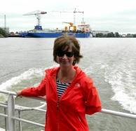 River cruising to Rotterdam
