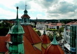Rooftops from Sopot Lanterna lighthouse