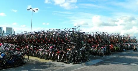So where did I leave my bike...