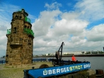 Uberseestadt lighthouse