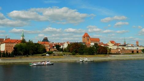 A view of Toruń across the Vistula