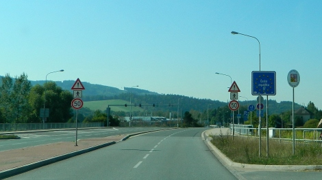 All quiet at the Czech border