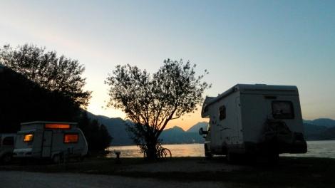 A final Austrian sunset - for now...