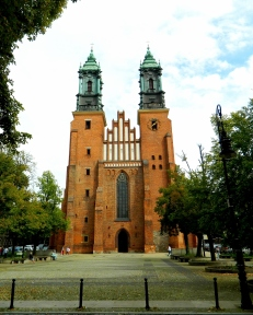 Caathedral on the site of Poland's first church