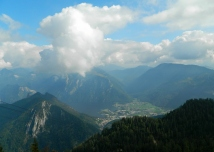 Ebensee from above