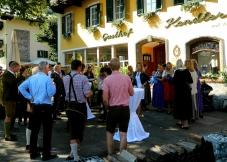 Lederhosen wedding