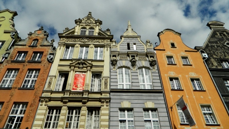 Gdańsk merchants' houses