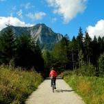 Heading towards the Dachstein mountain