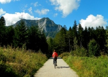 Heading towards the Dachstein mountain