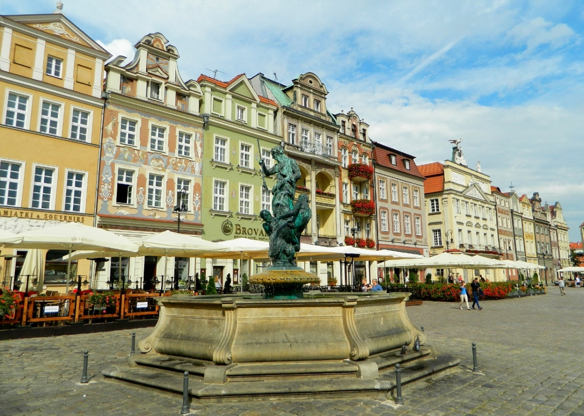 Poznań, birthplace of Poland