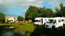 Sunshine after a rain storm at Wrocław camp