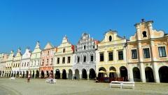 Telč town square