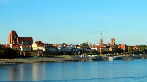 View of Toruń across the Vistula