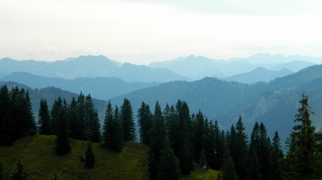Alps to Austria from 1730m