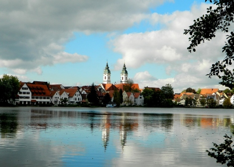 Bad Waldsee lake