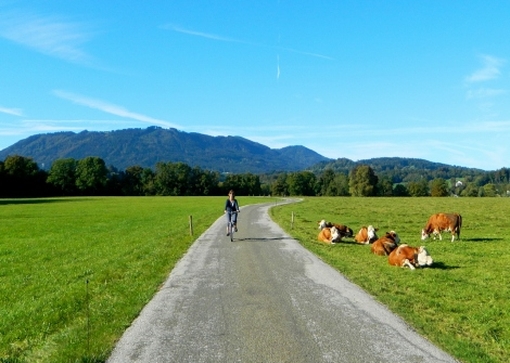 Cycling in the Isartal