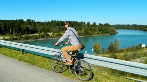 Cycling to the Kraftwerk
