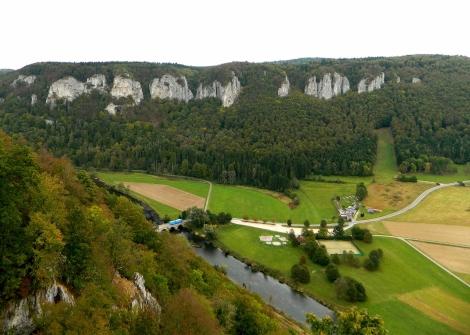 Donau valley view