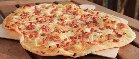 Flammkuchen the traditional way