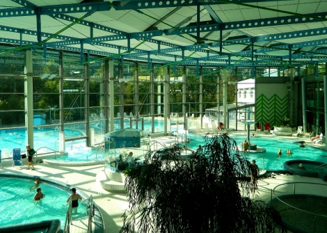 Inside the therme