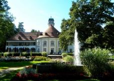 Kurhaus and garden