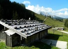 Stone snow defences