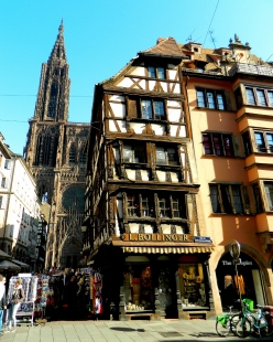 A famous Strasbourg view