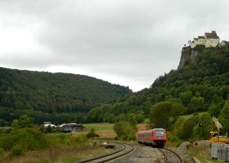 Train at Hausen im Tal