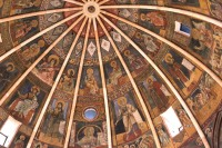 Bapistry dome