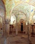 Crypt of frescoes