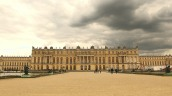 Dark skies over Versailles
